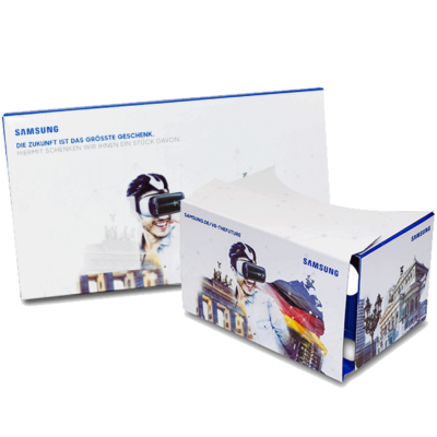 Google Cardboard for Samsung Gear VR promotion