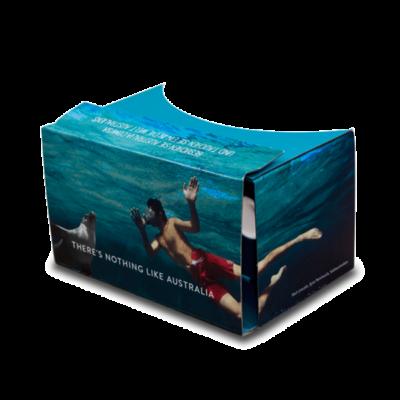 Google Cardboard insert for travel & science magazine – Geo Saison & Zeit Wissen